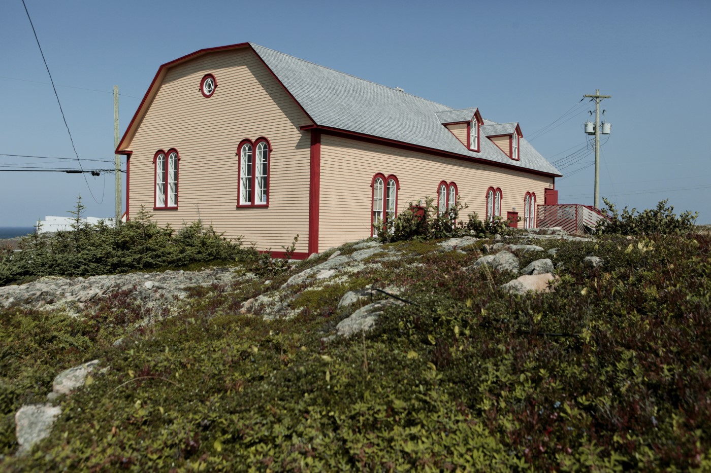 Exterior of Fogo Island Shop
