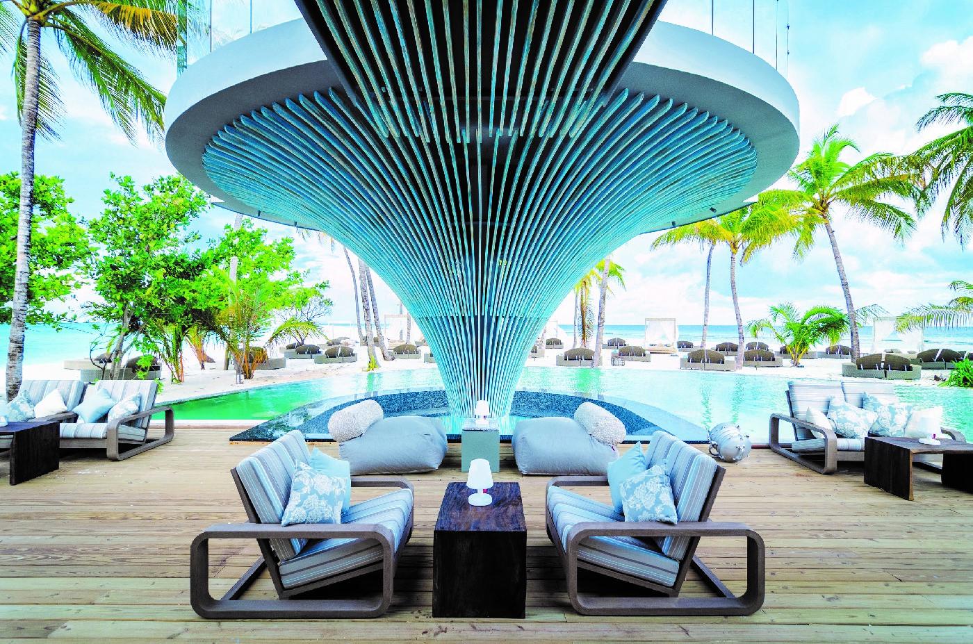 The Baa Bar in Maldives
