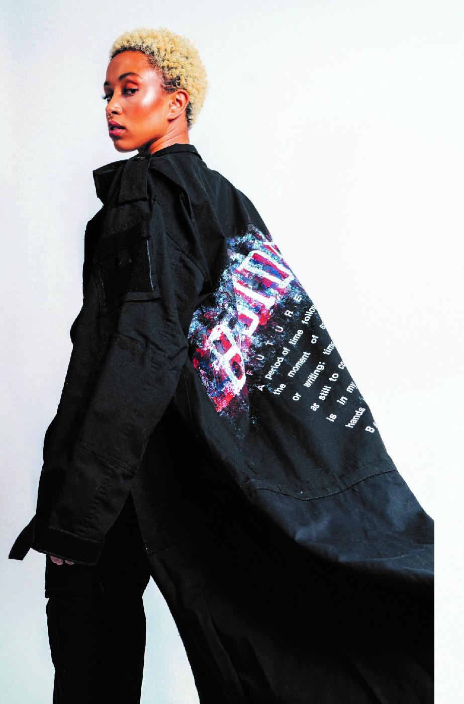 Wale Adeyemi coat
