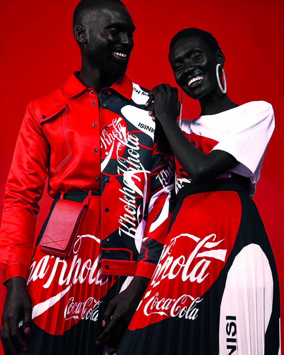 Coco Cola fashion by Rich Mnisi