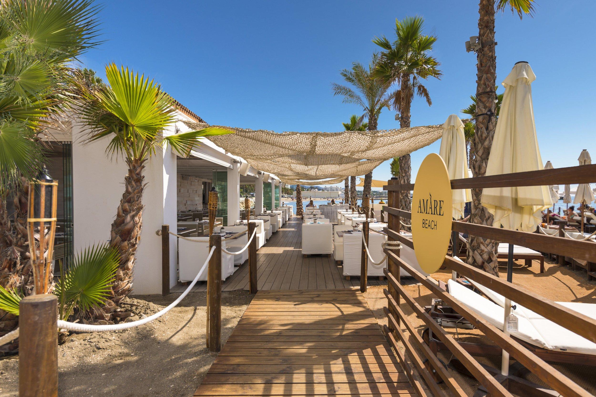 Amare Beach Hotel Marbella Beach Club