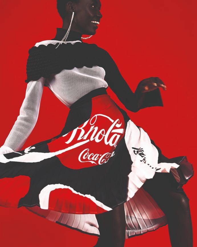 Coca Cola fashion range by Rich Mnisi
