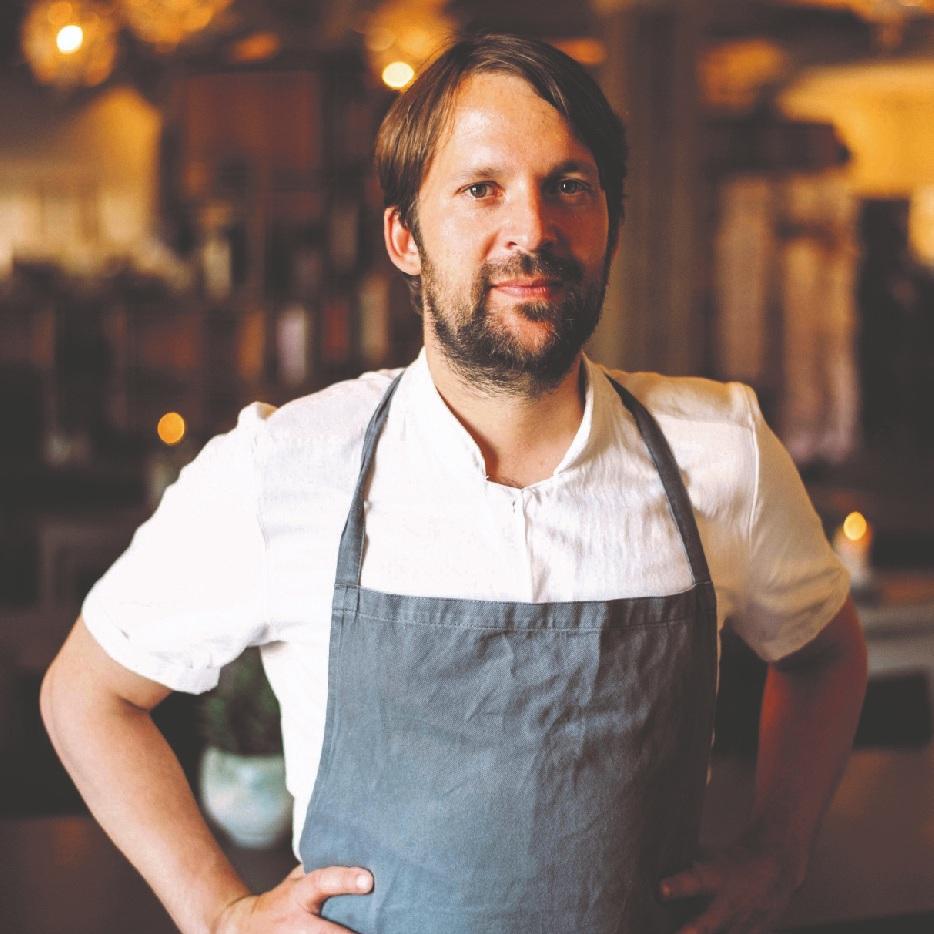 Chef René Redzepi of Noma in Copenhagen
