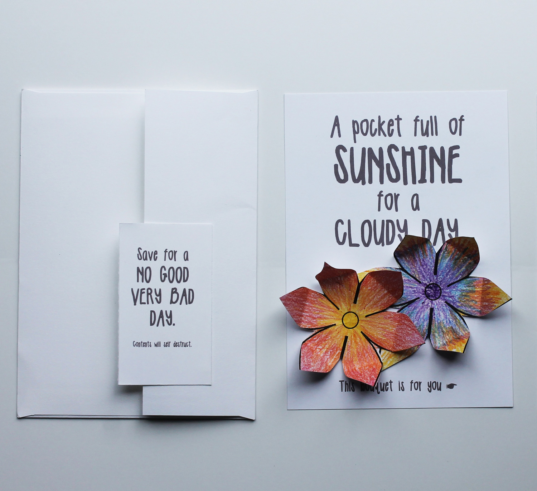 Hidden card for a rainy day
