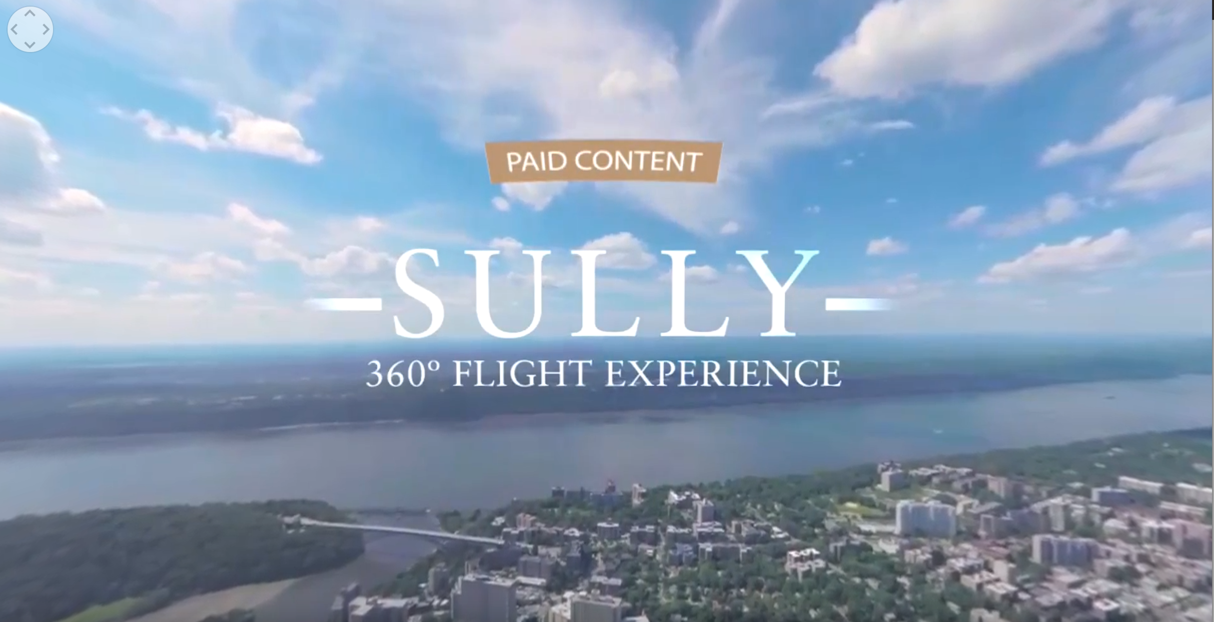 "Warner Bro's ""Sully"" 360° Experience"