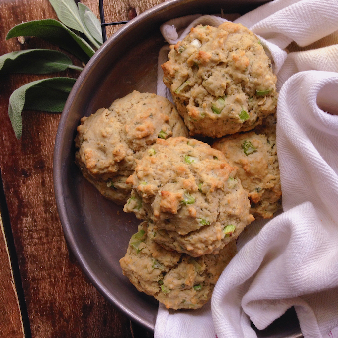 Stuffing Drop Biscuits VEGG Catering