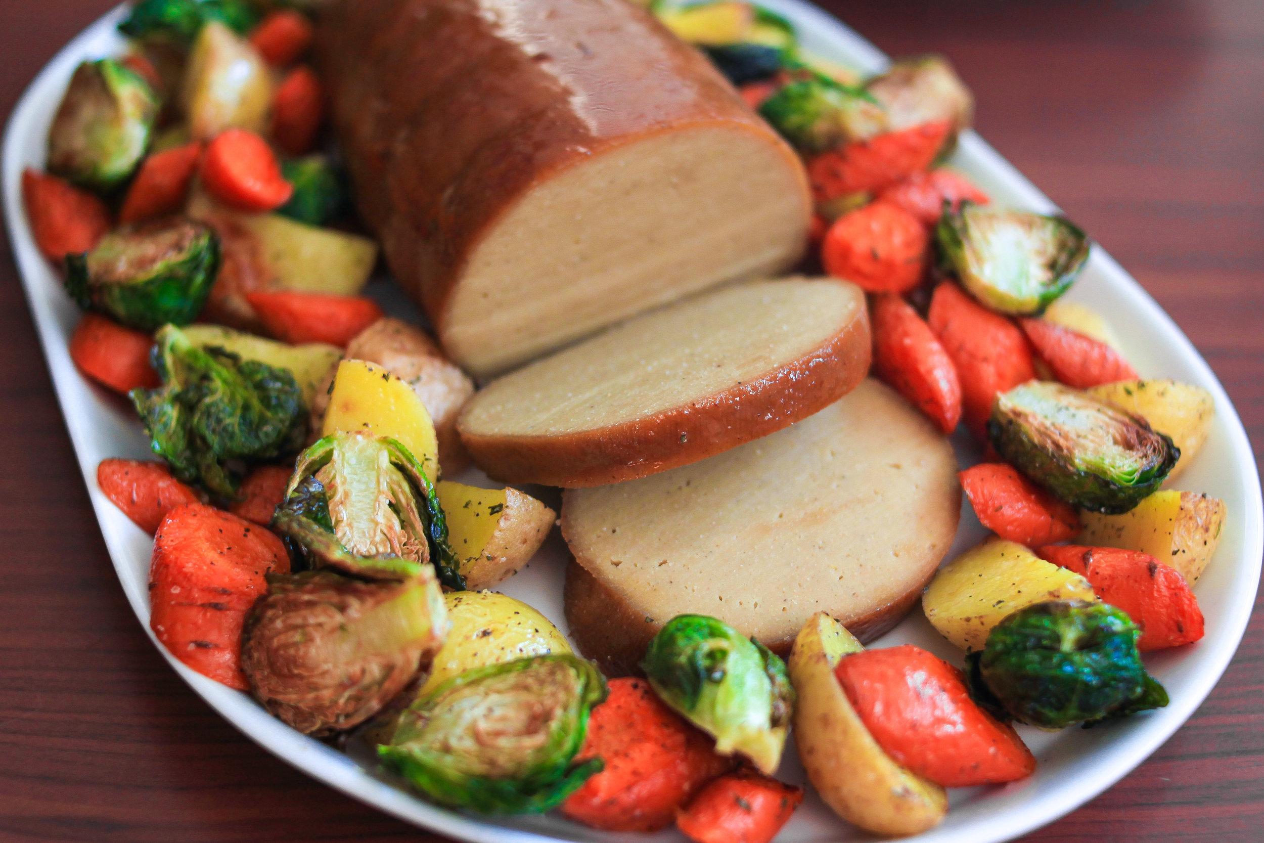 glazed holiday roast VEGG