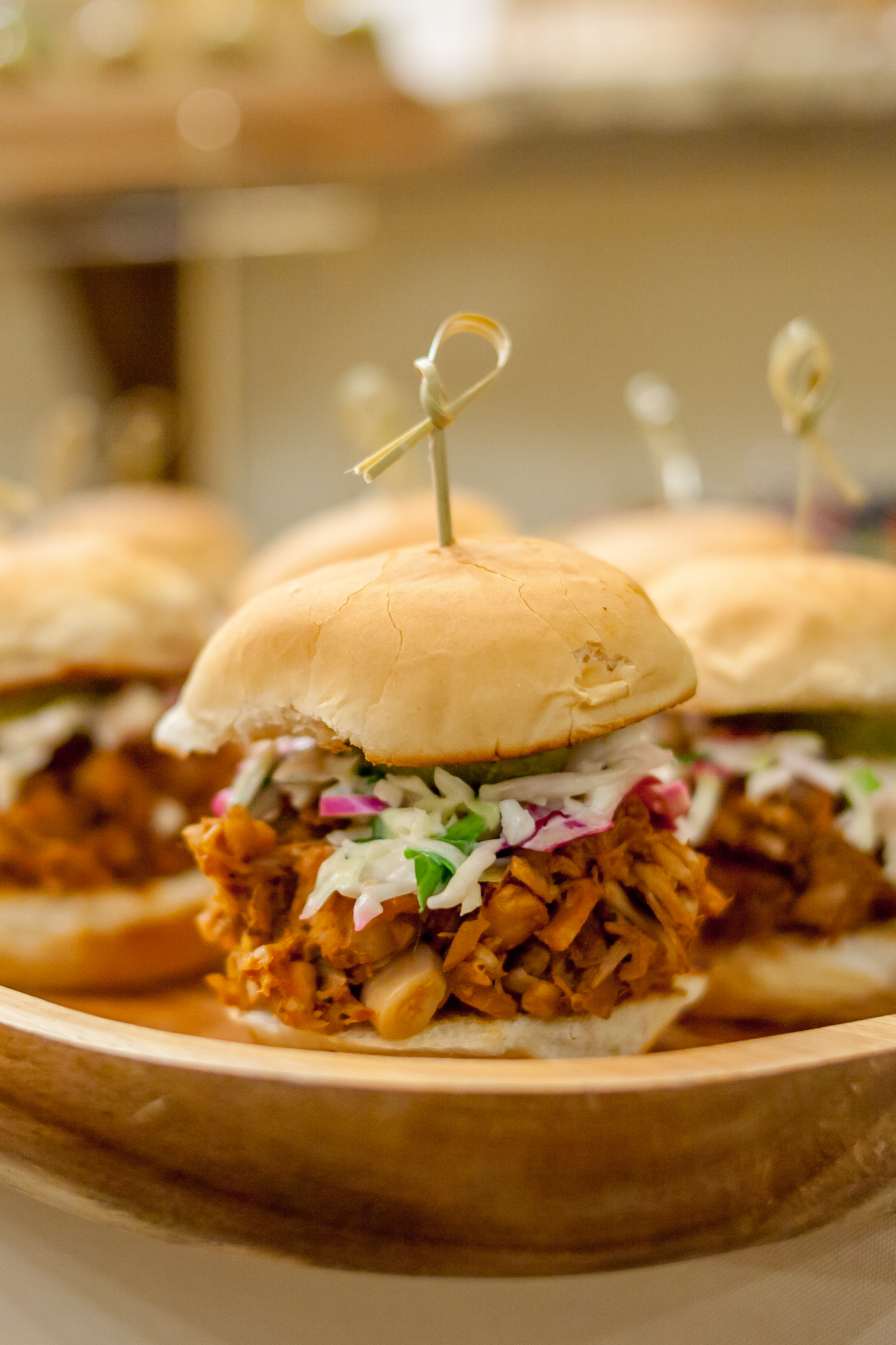 pulled bbq sliders