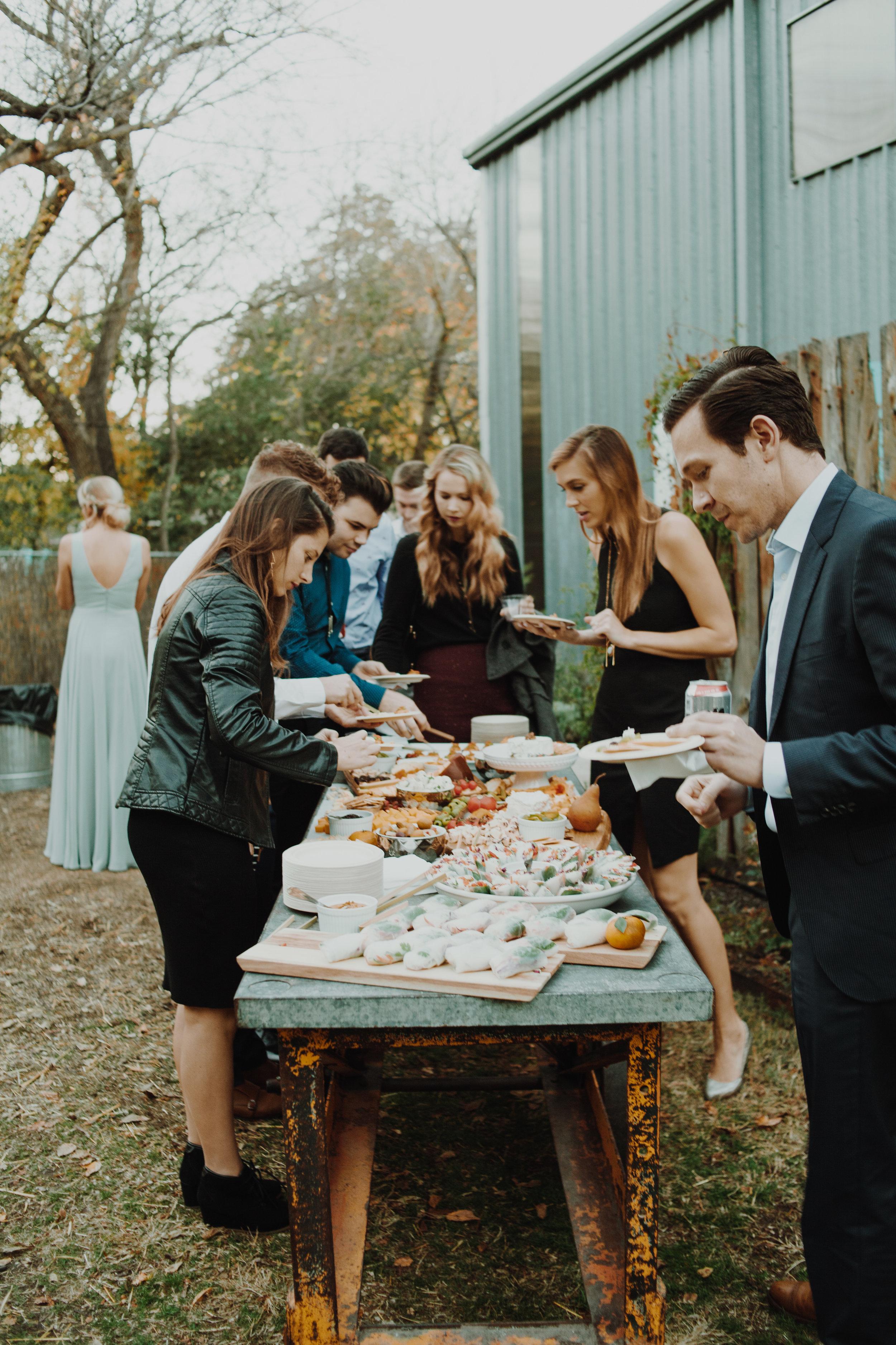 buffet VEGG Catering