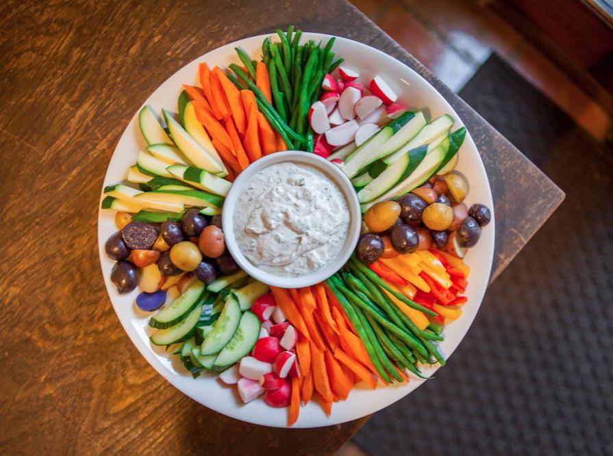 crudite platter VEGG Catering
