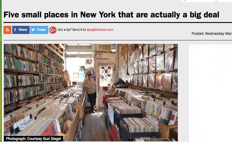 TImeOut Magazine Tiny New York