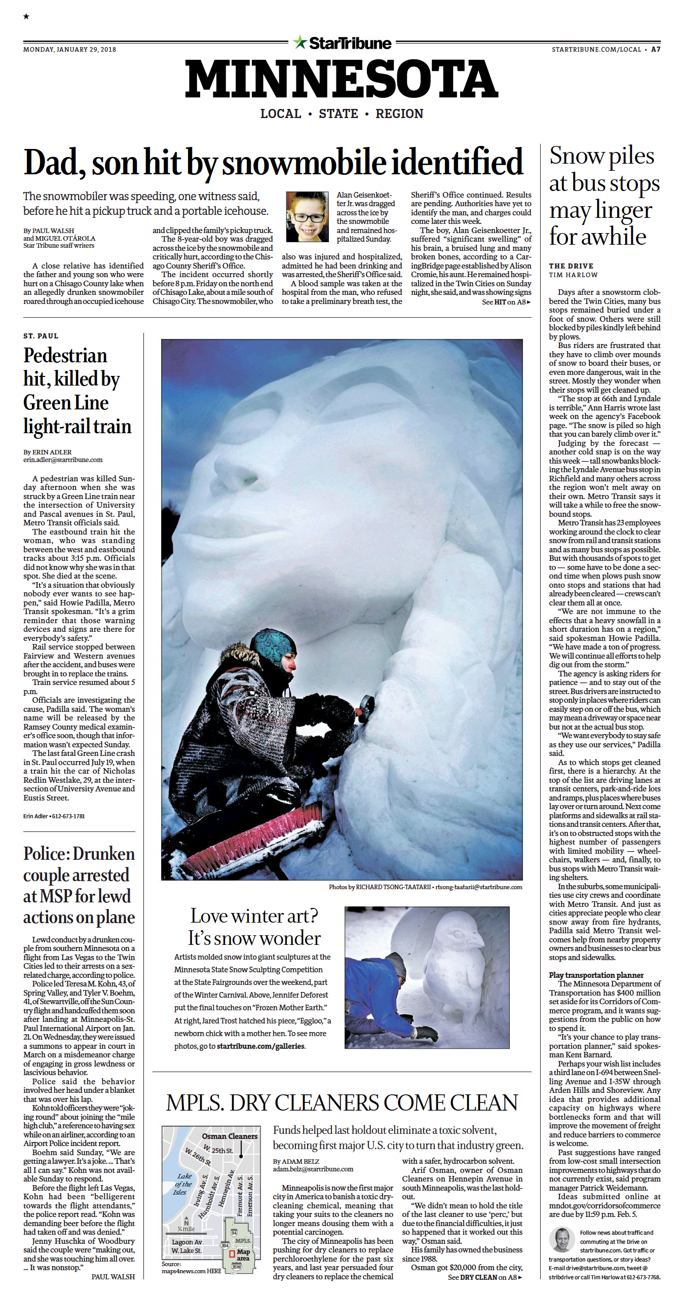 1.29.18 Winter Carnival Snow Sculptures Star Tribune A7 Full Page.png