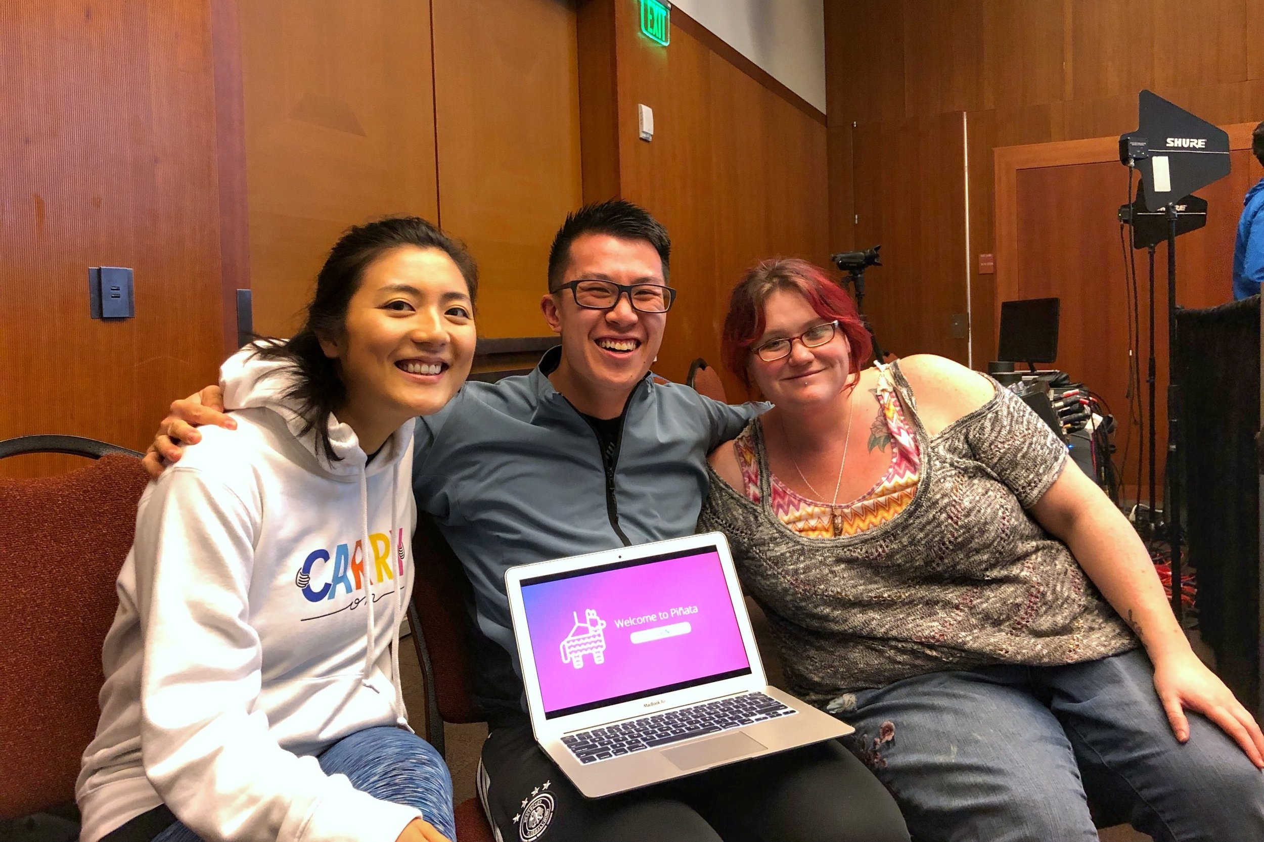By a stroke of pure serendipity, it was our first meeting at the Hack Mental Health Hackathon — and our first hackathons ever!