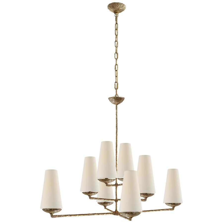 Fontaine Vertical Chandelier by Aerin