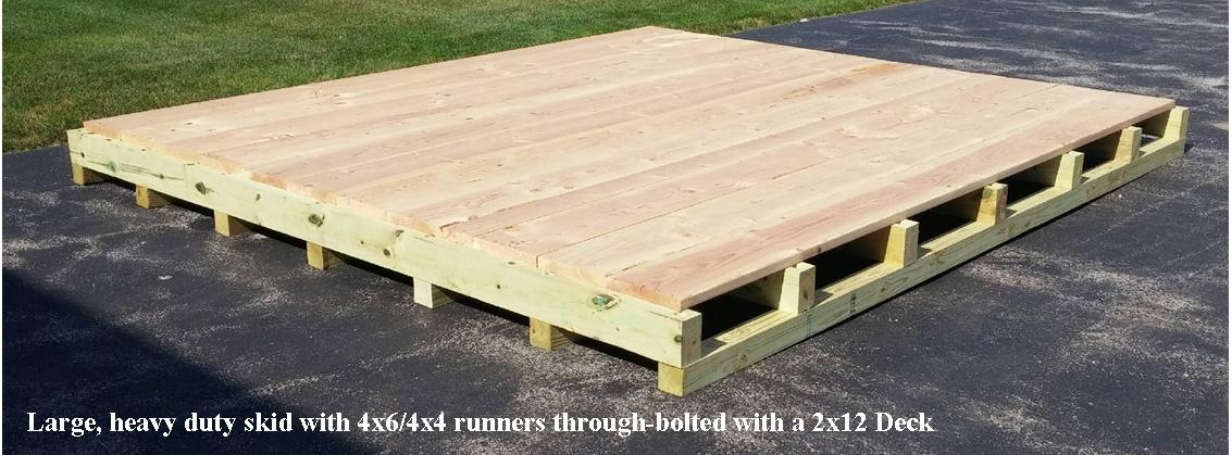 Monster Pallets - Our giant pallets feature at least one layer of 1-1/2