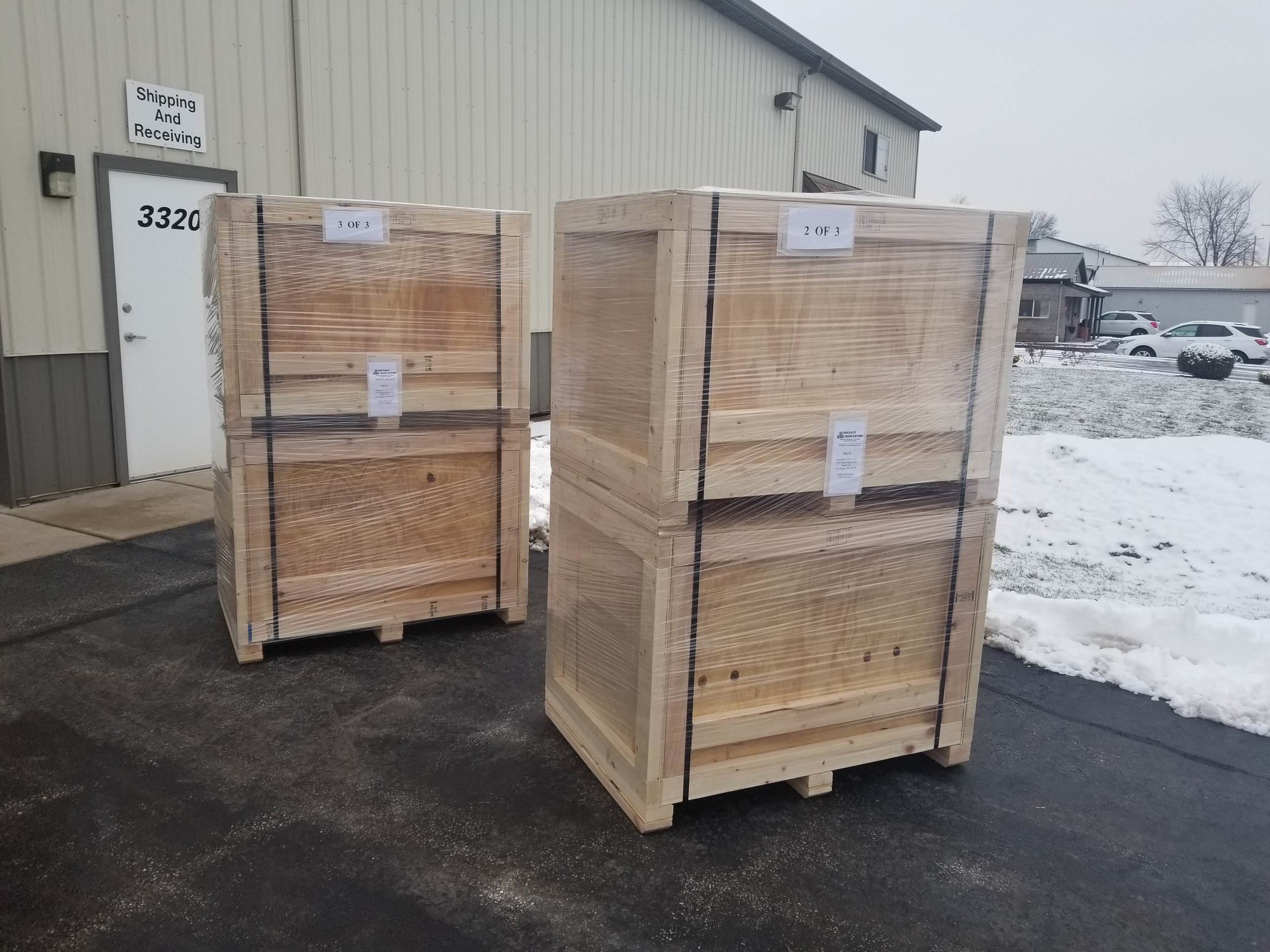 Ready for pickup via YOUR CARRIER or we can ship it for you.