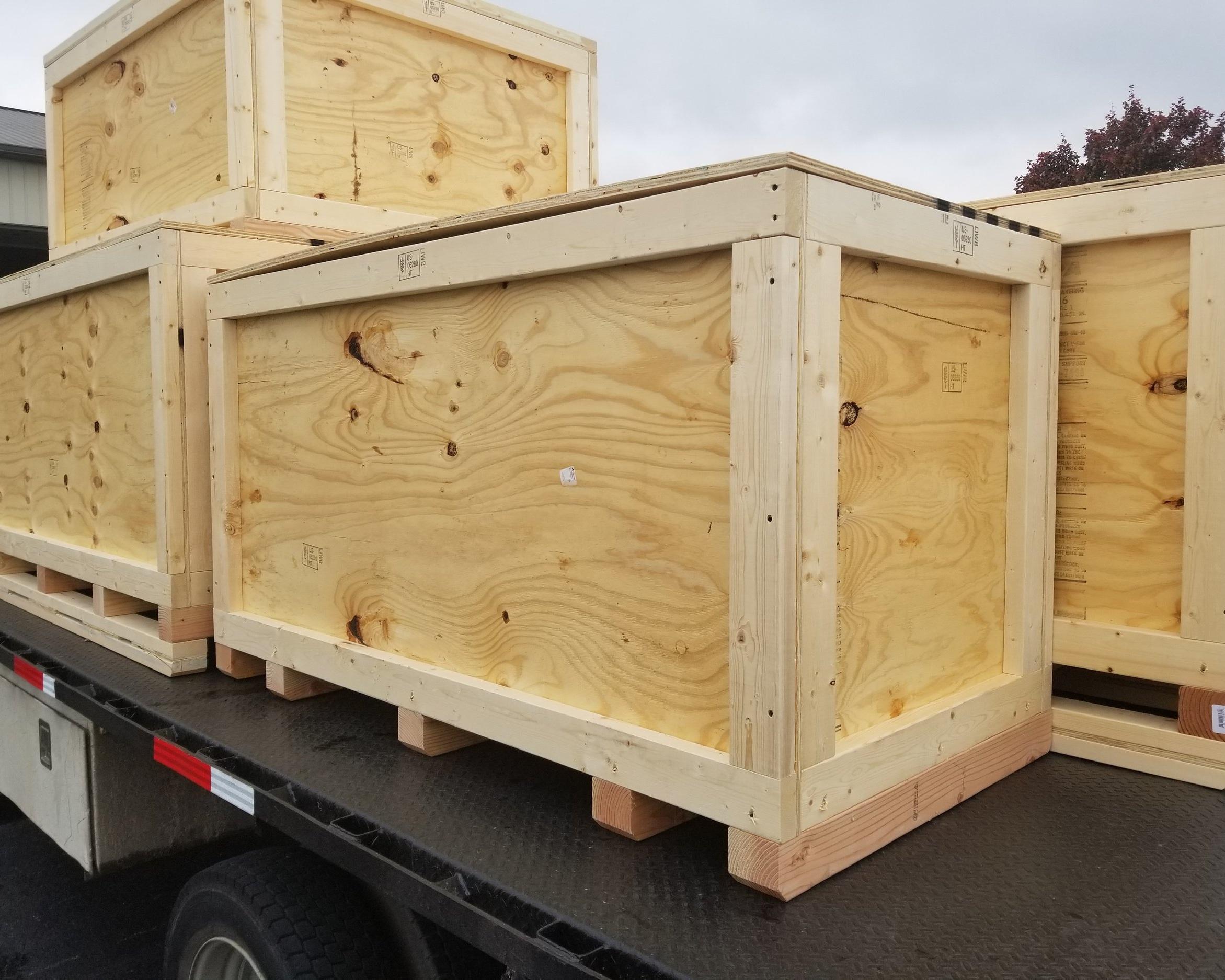 ISPM-15 Certified International Crates -