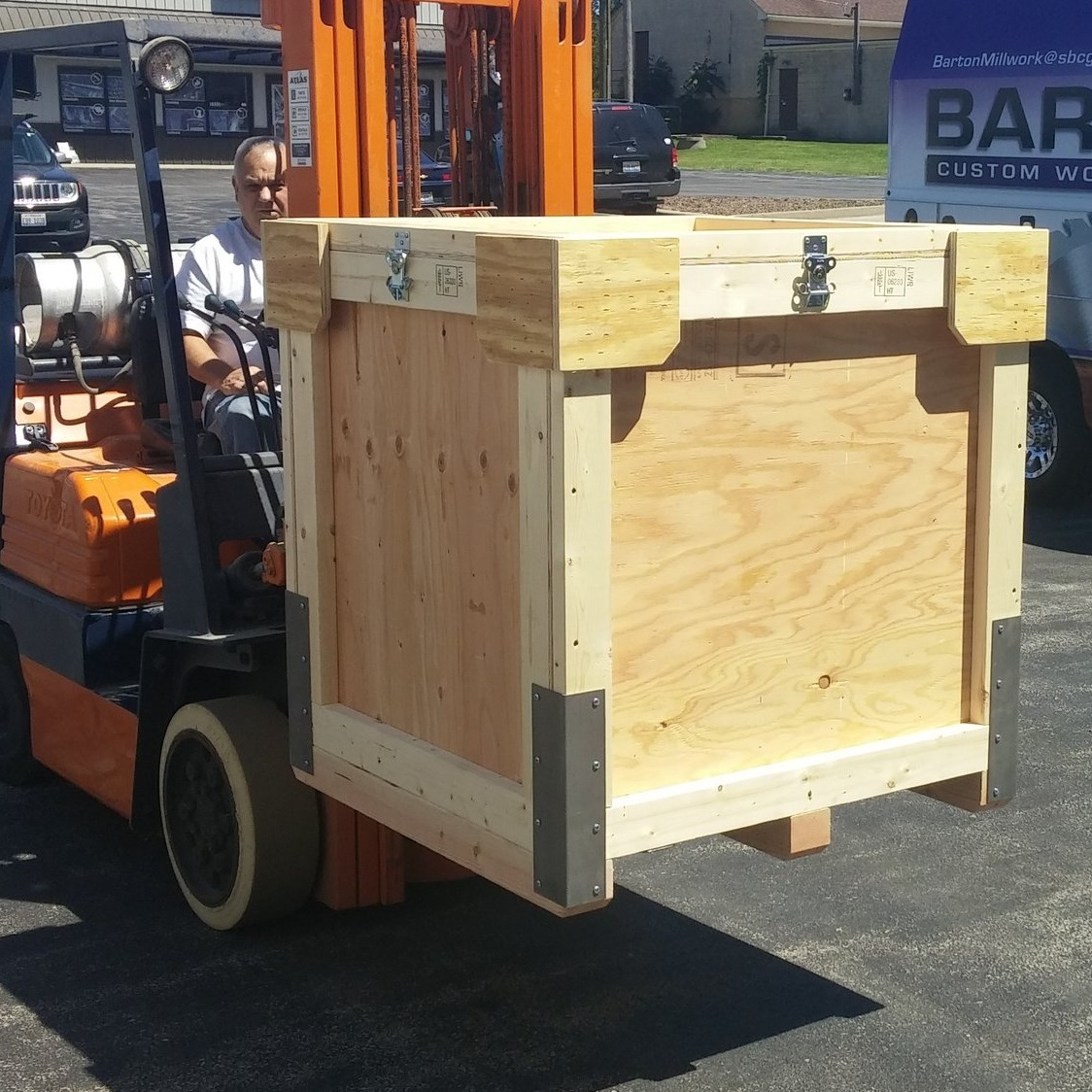 ISPM-15Certified Re-usable Crates -
