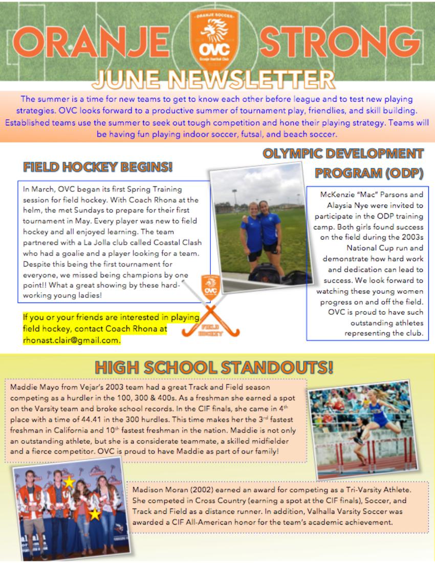 Oranje Newsletter 2018-06-pg1.png