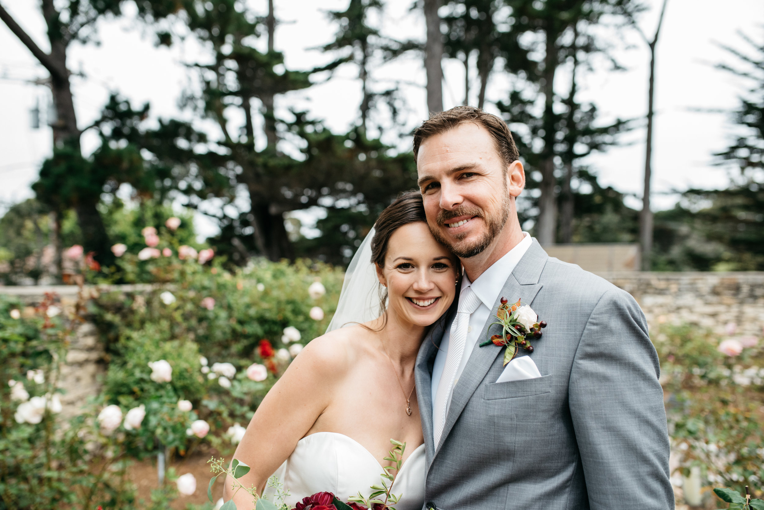 Epiphany Bride - Kate and Justin Kate is wearing a silk dupioni gown from our Justin Alexander Collection