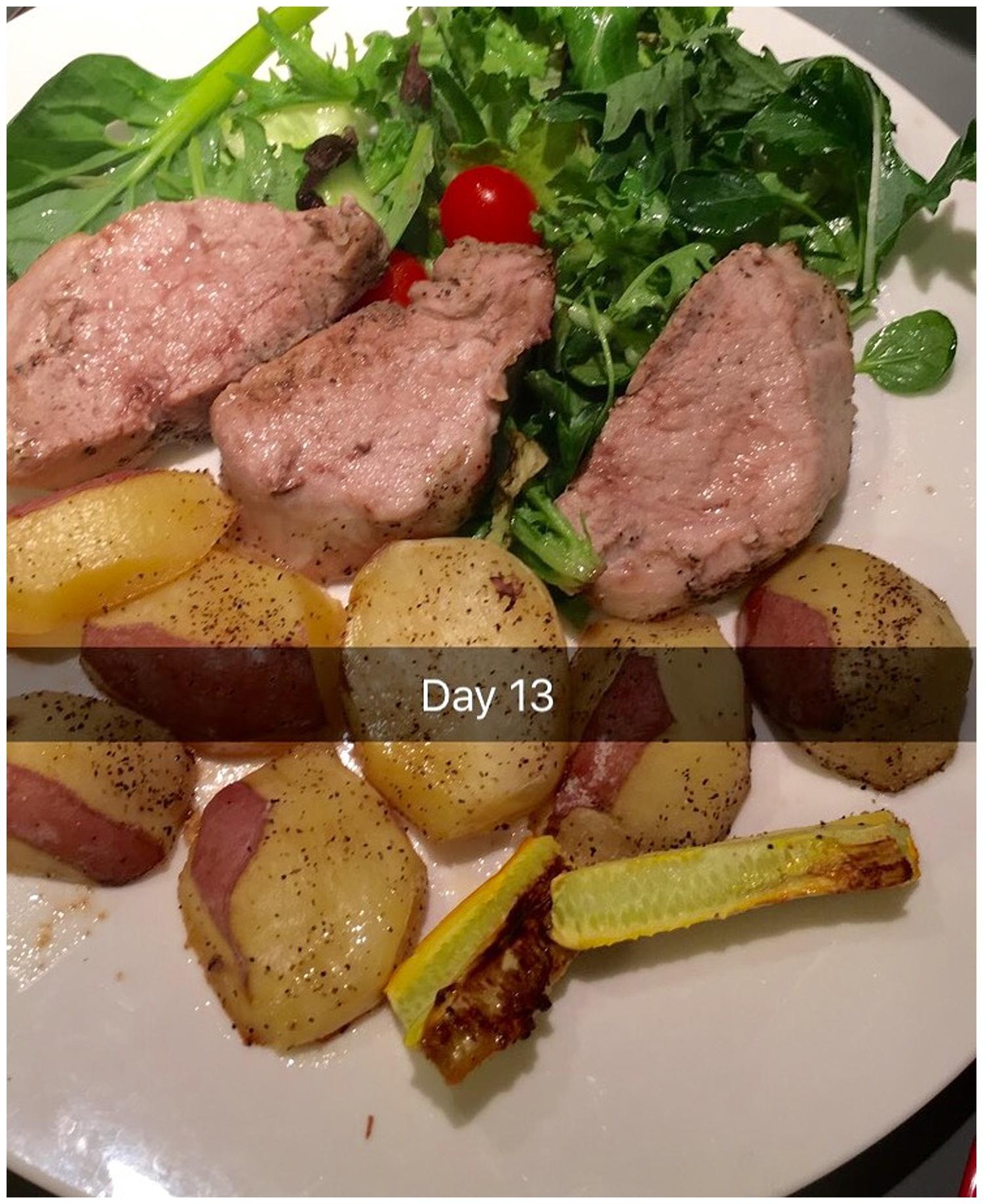 Pork with veggies