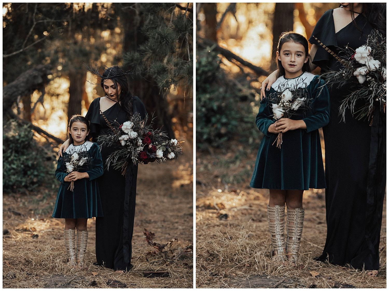 carol oliva photography girls in black dresses