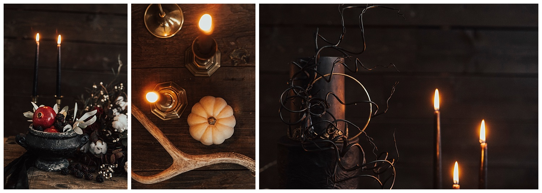 carol oliva photography gothic table decor