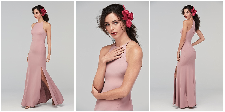 Watters fall 2017 crepe dresses
