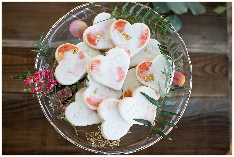 de joy photography tart and tin wedding love cookies