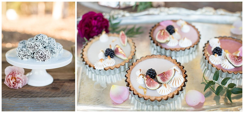 de joy photography tart and tin wedding desserts