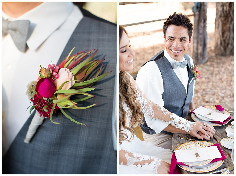 de joy photography wedding sweetheart table