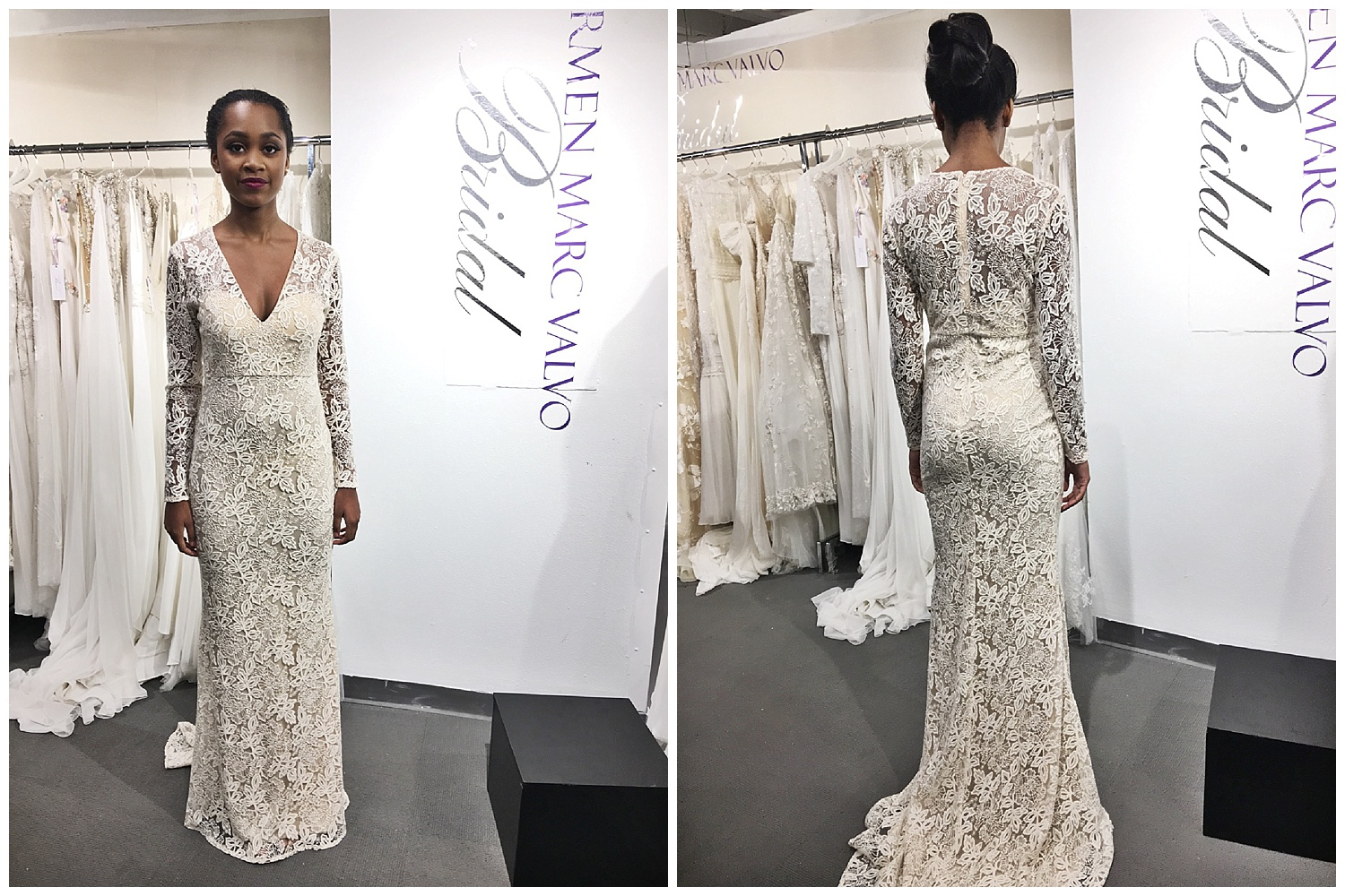 This was the number one dress that we featured on our Instagram stories during market! So many brides and our wedding vendor friends gave a huge thumbs up to it!