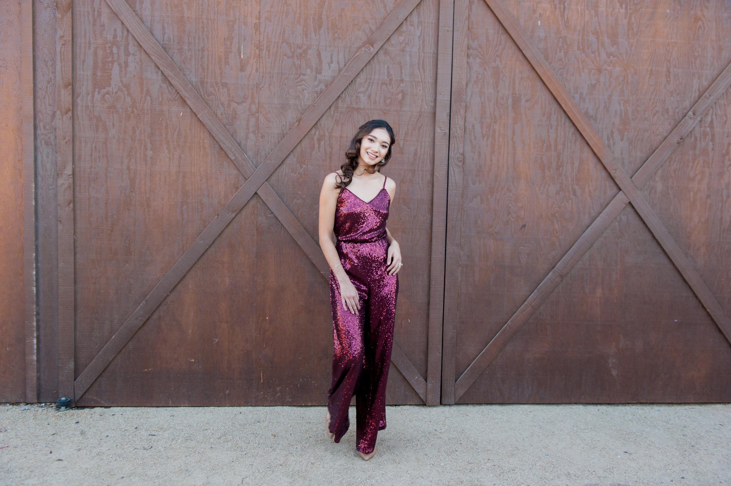 jen Vazquez wedding photography Watters sequin jumpsuit for 2018
