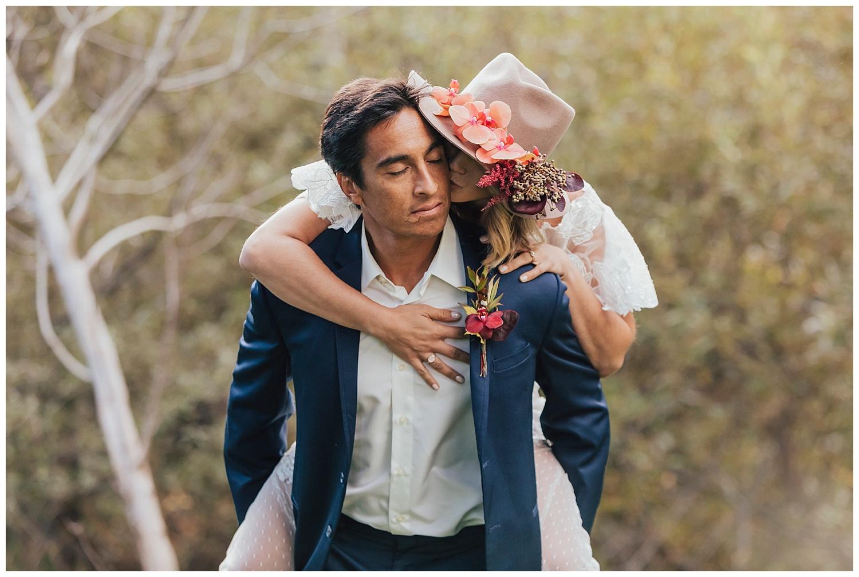 carol oliva photography boho bridal couple