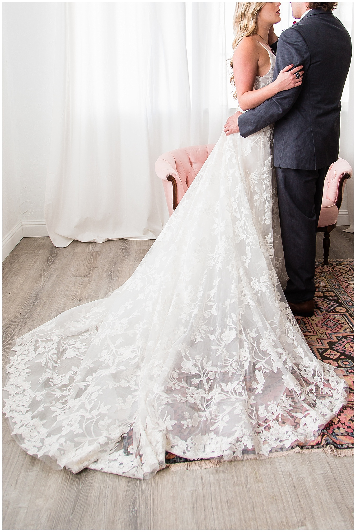 Kelley williams photography blush by Hayley Paige wedding gown