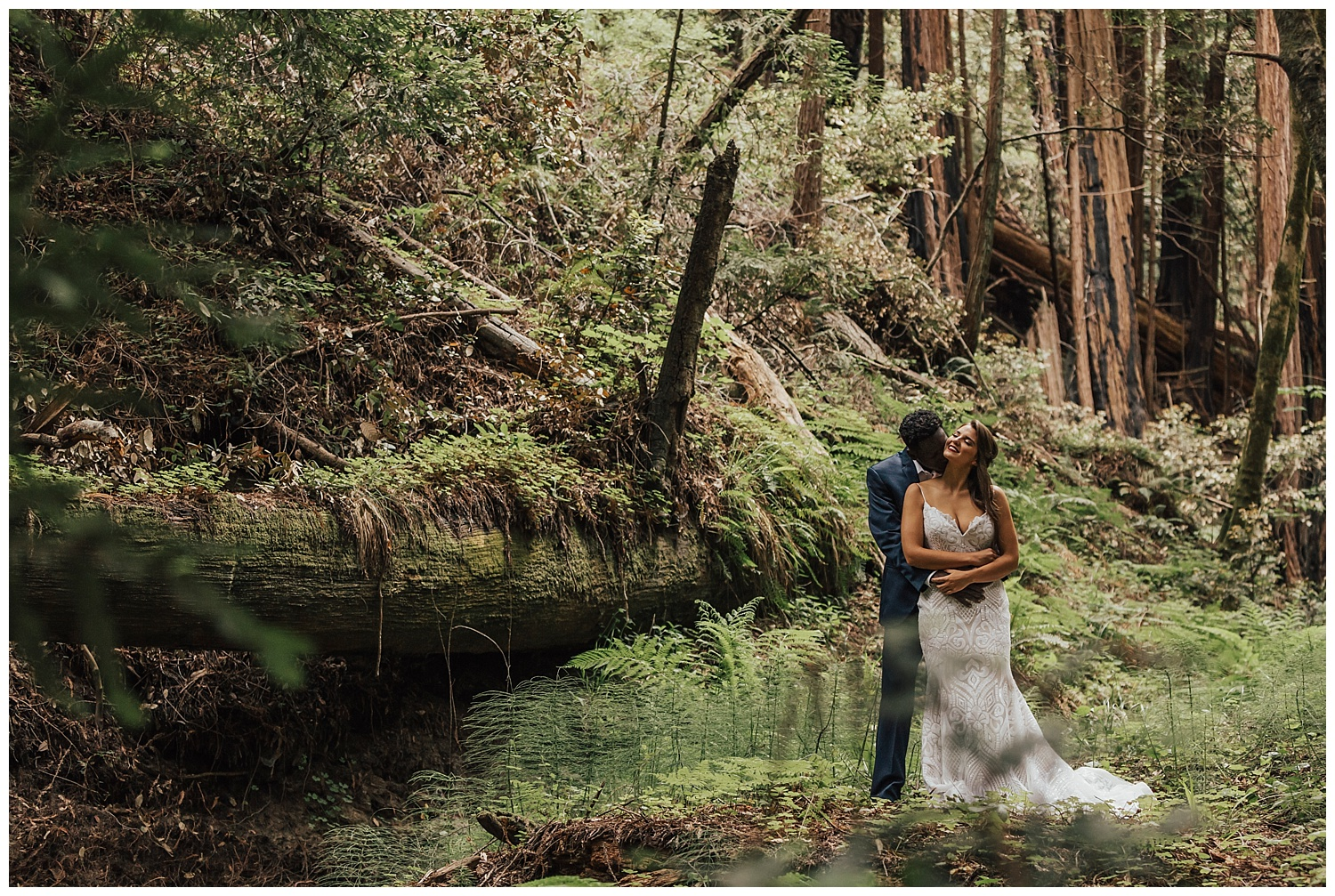 elopement-in-the-forest-big-sir-california
