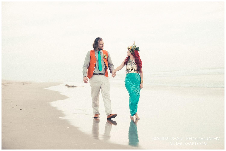 Aquaman and Mera at the Beach Inspired Wedding.jpg