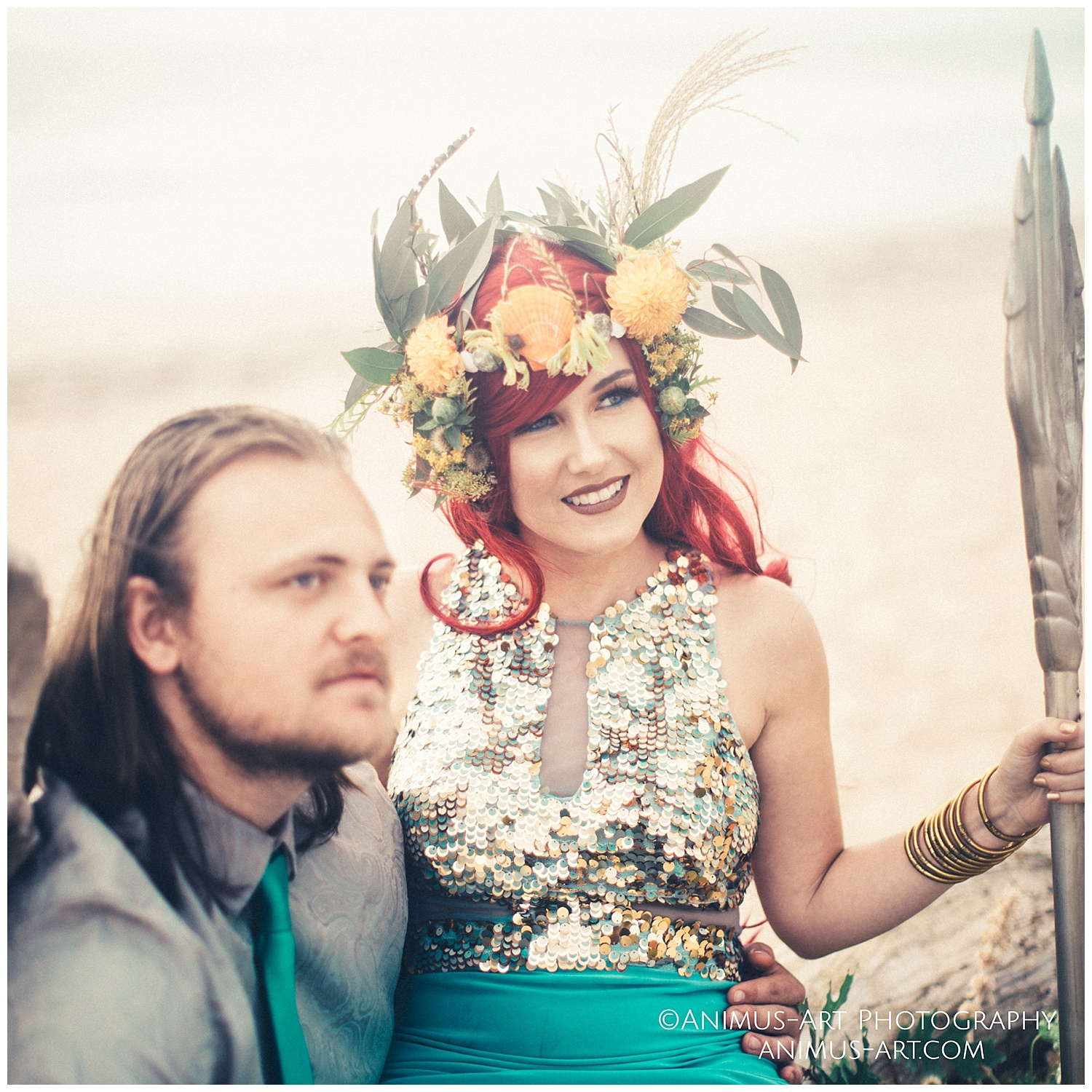 Aquaman and Mera Inspired Wedding with Trident.jpg