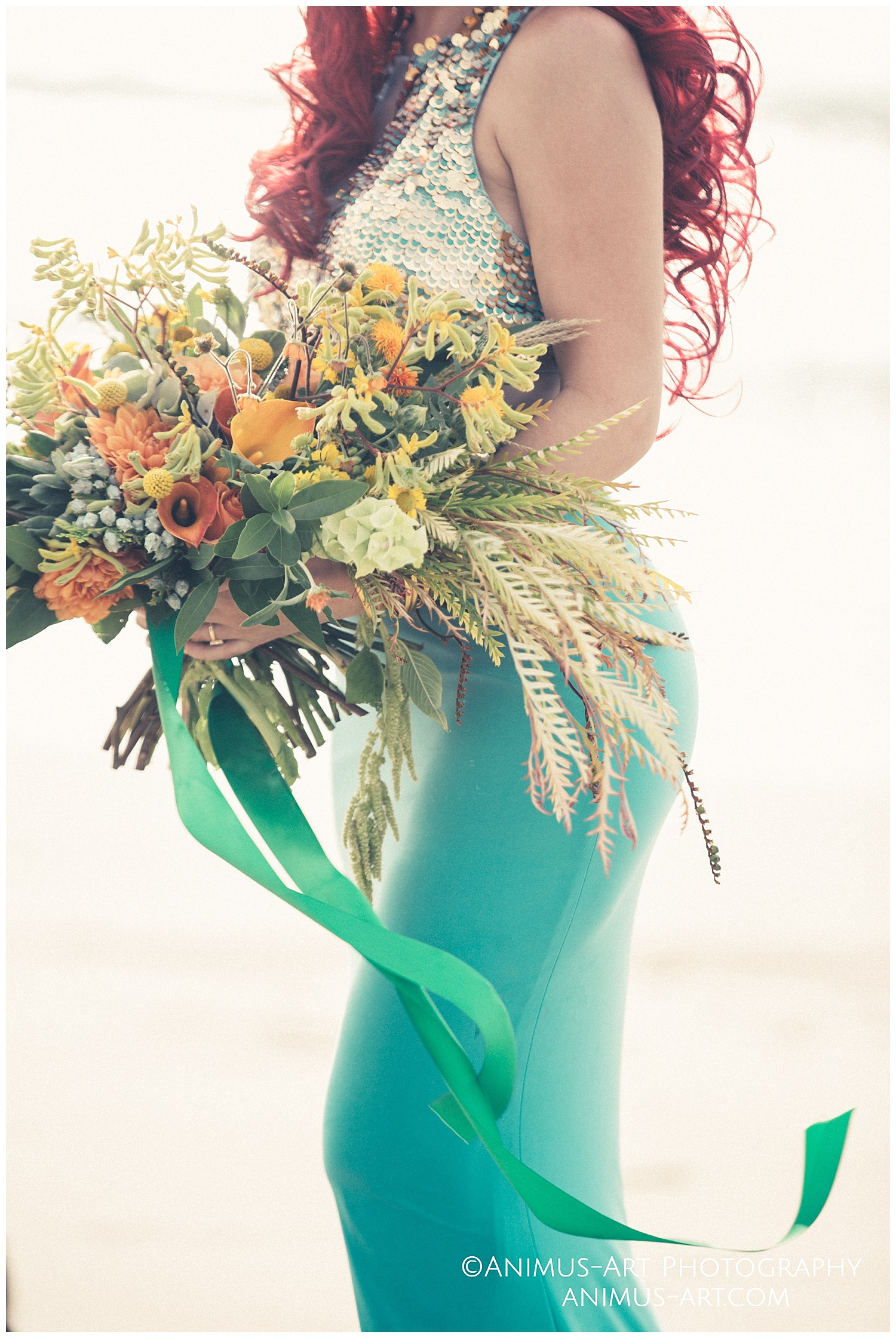 Boho bouquet by Wild Rose and Thyme Beach Photoshoot.jpg