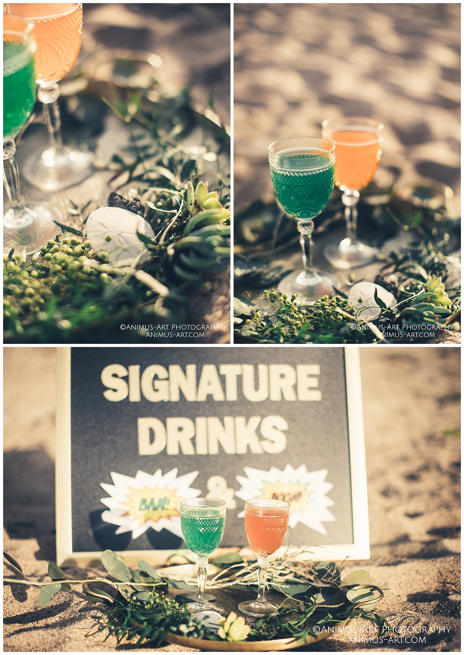 Signature Drinks Cocktails at the Beach.jpg
