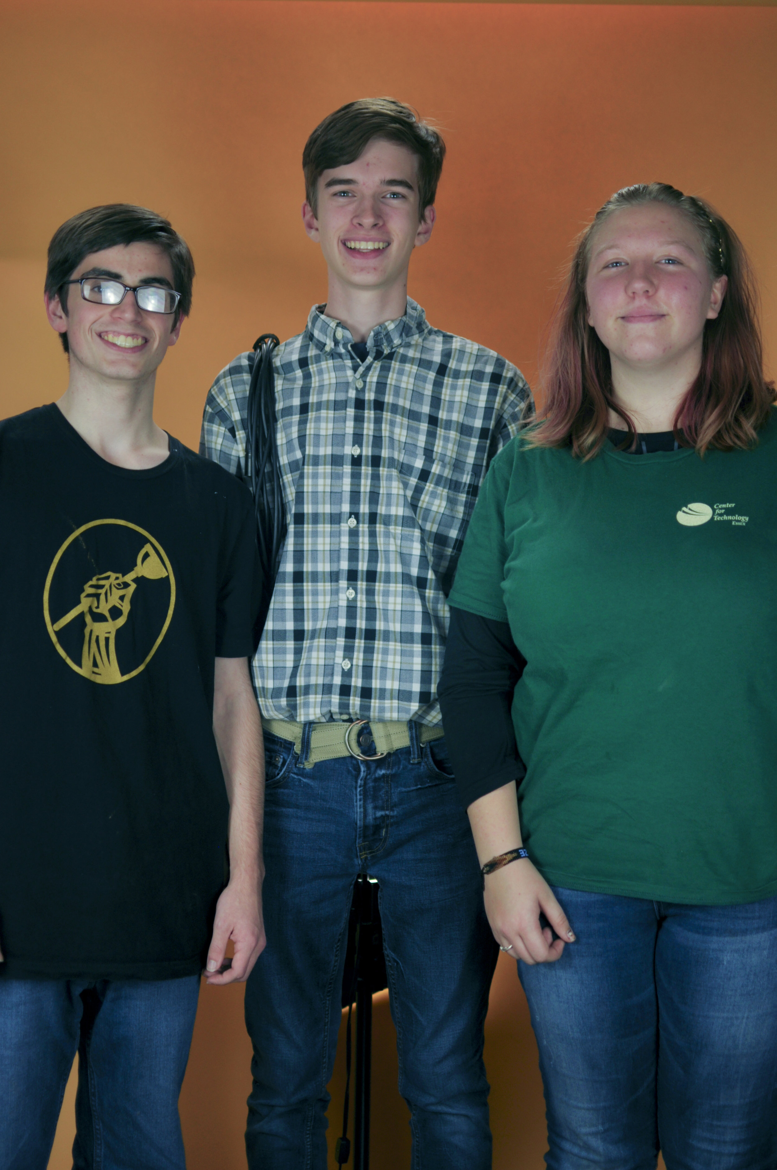 Stage Managers - Matt Tupaj, Courtney Berscheid, Isaak Olson