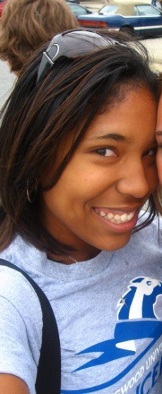 Senior year of high school: hair stayed straight. never natural.