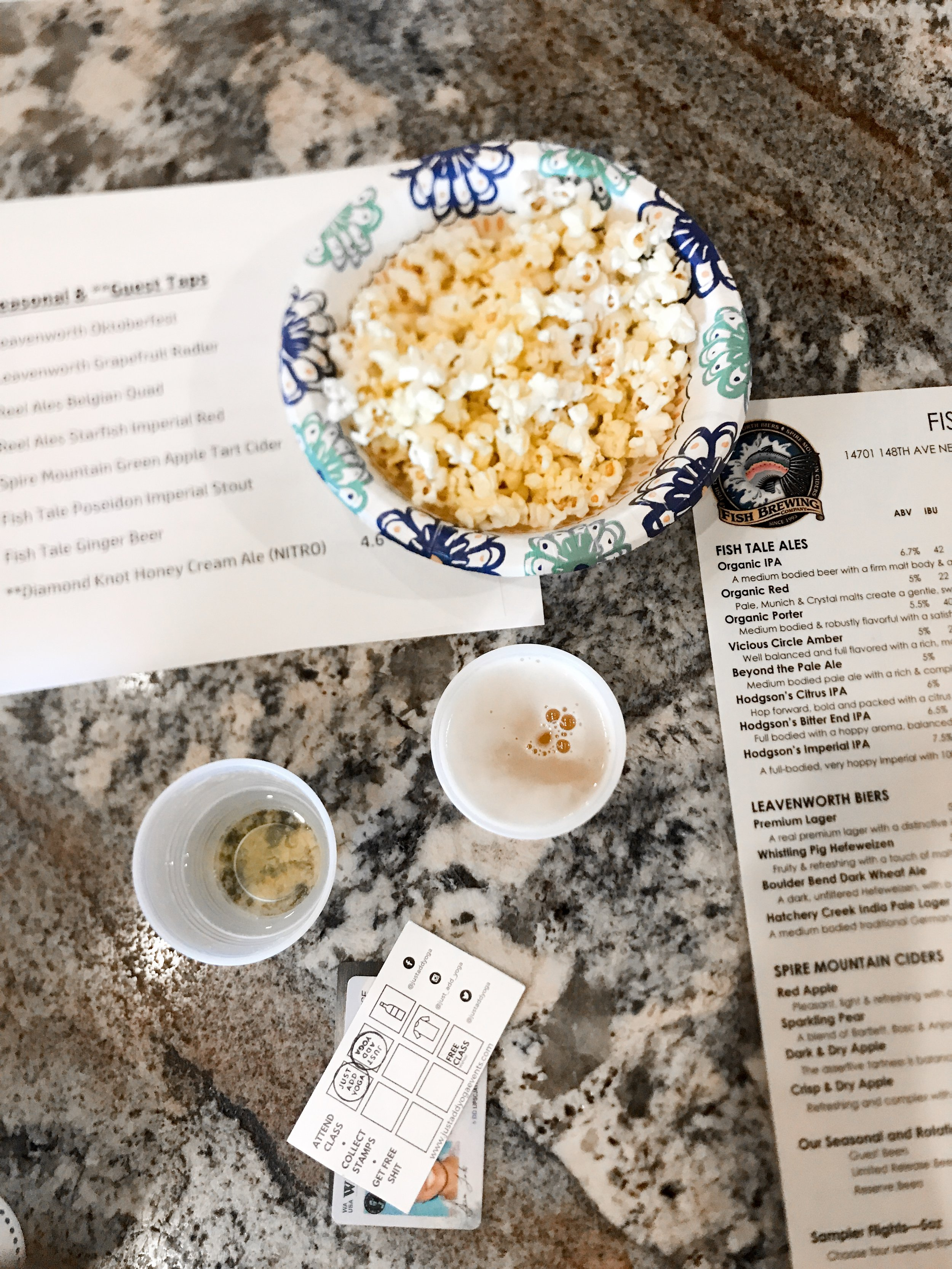 Fish Brewing - COME THROUGH with the popcorn!
