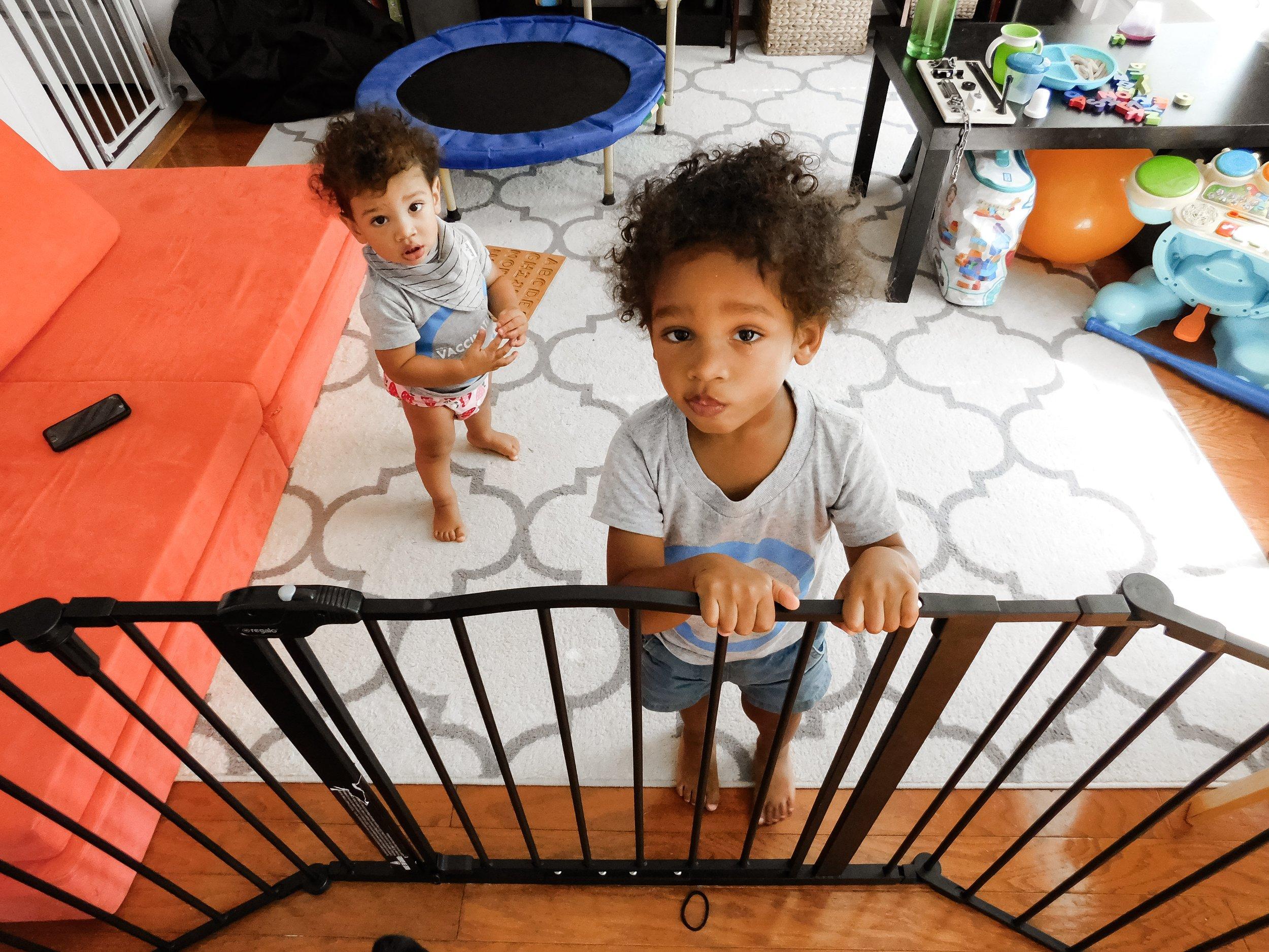 Got them locked in baby jail.
