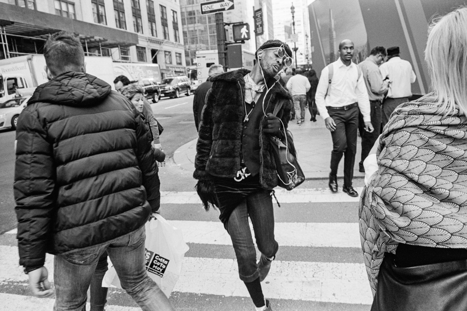 Photographs ofStyle, Culture,& Discovery - Andre D. Wagner, a photographer based in Brooklyn, roamed the streets of Manhattan this winter in search of stylish moments.Feburary 10, 2017
