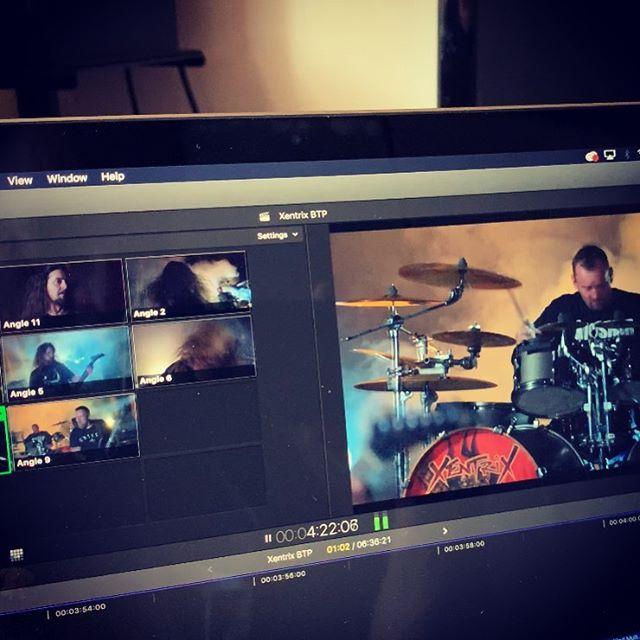 New video for Bury The Pain is coming very soon! #xentrix #burythepain #listenablerecords #ukthrashmetal #thrashmetal