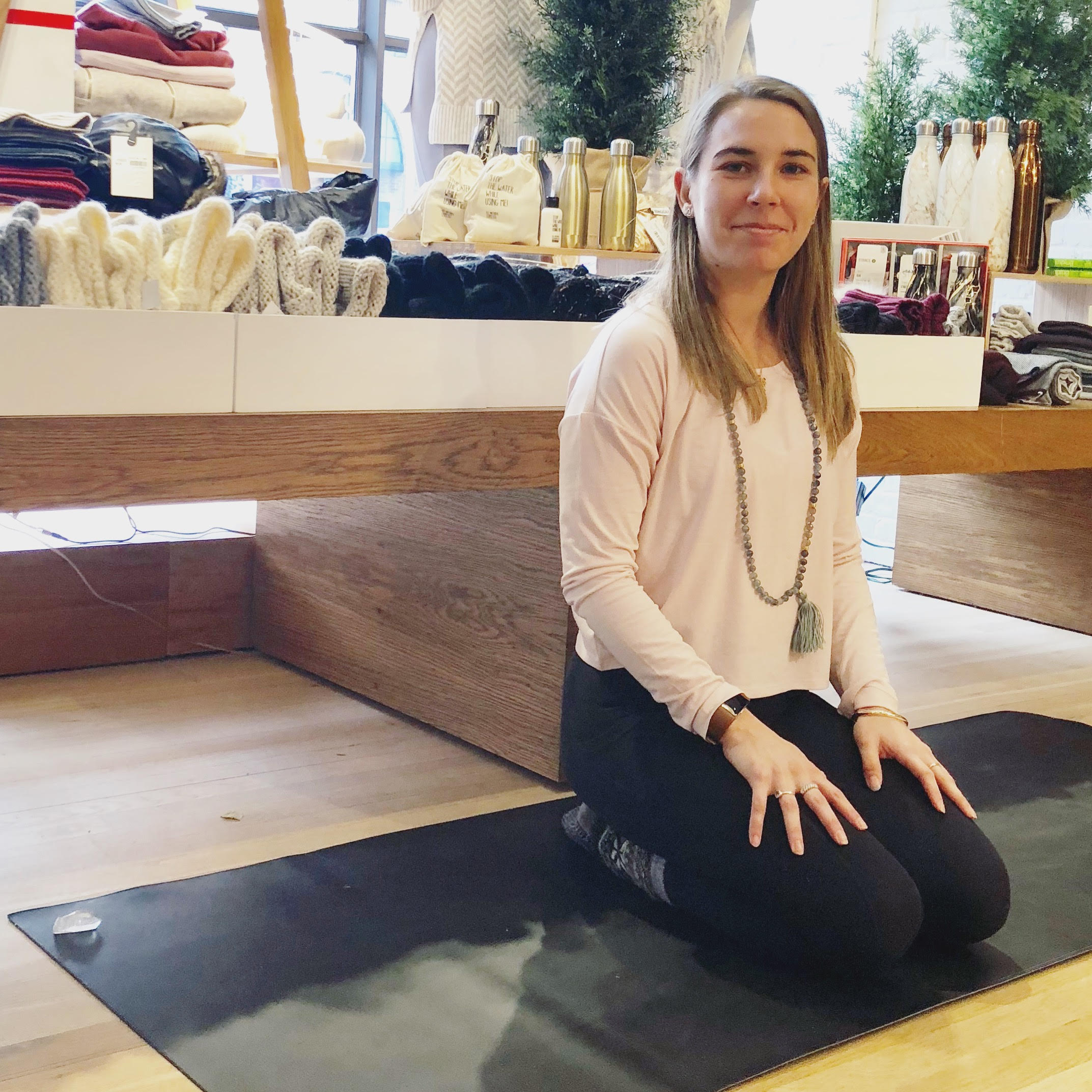 I am so grateful that my  Athleta  family opens up their space for me to share the practice of yoga with others.