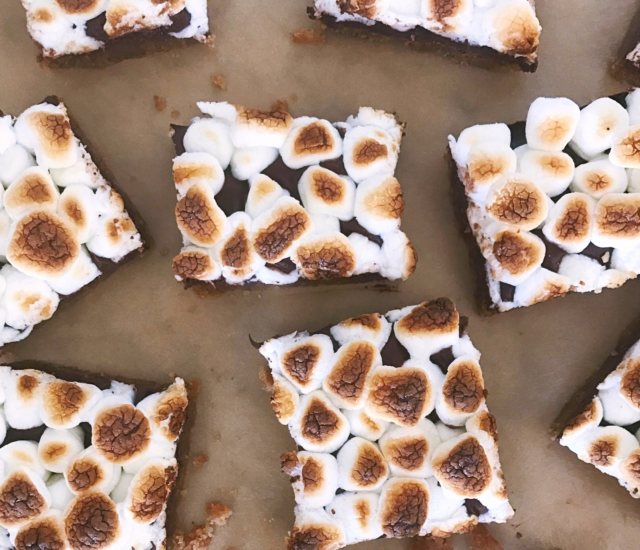 Salted S'mores Bars - That Cozy Life