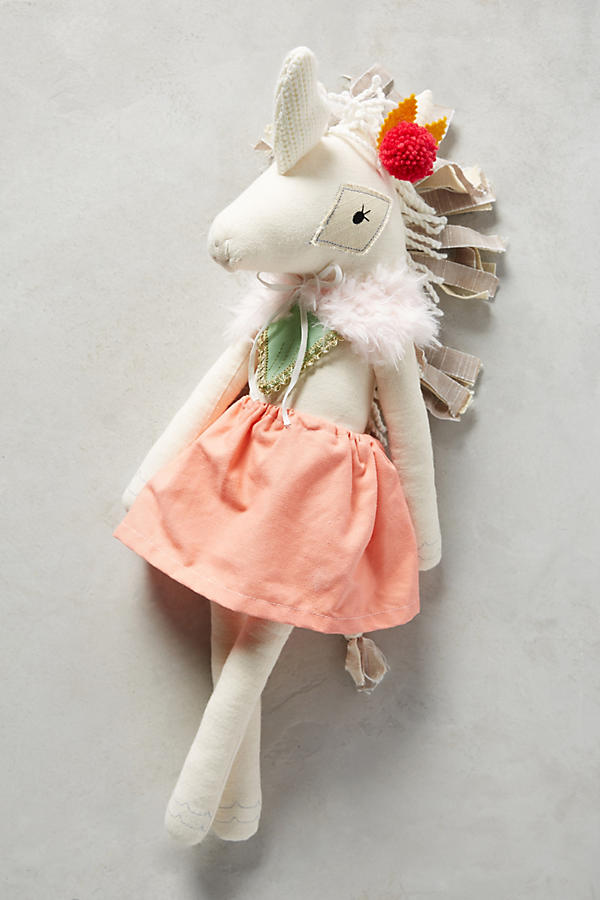 Fancy Lady Doll- Unicorn