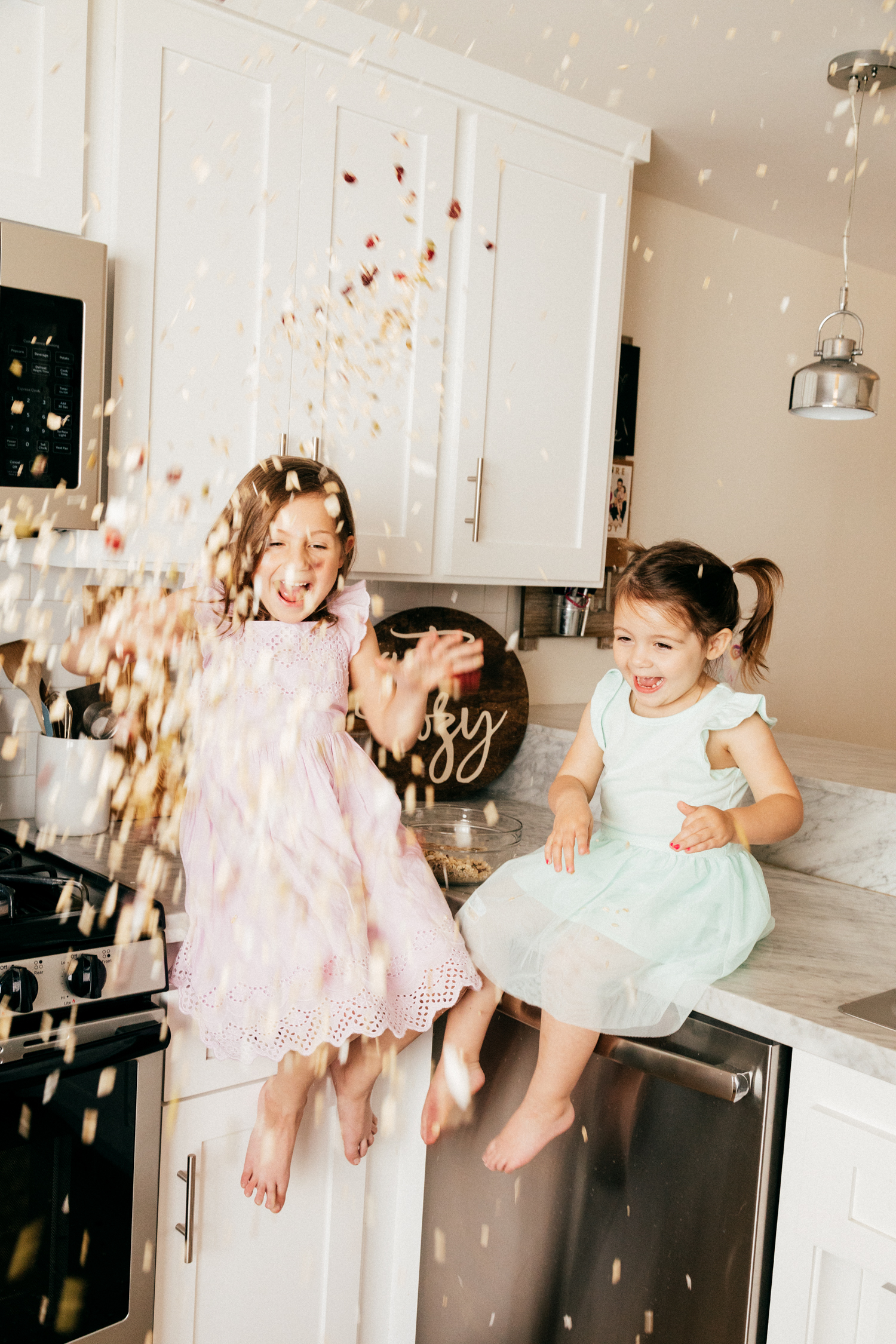 Cooking with Riley + Evie - Our Favorite  Granola